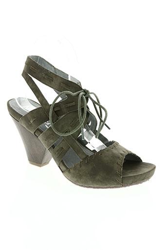 madison chaussures femme de couleur vert