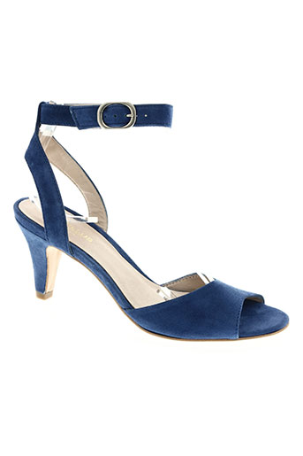 cyrillus chaussures femme de couleur bleu