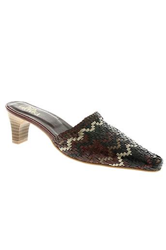 carioka chaussures femme de couleur marron