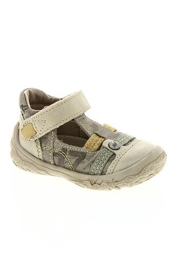 noël chaussures garçon de couleur beige