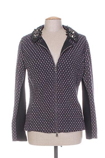 tricot chic vestes femme de couleur gris