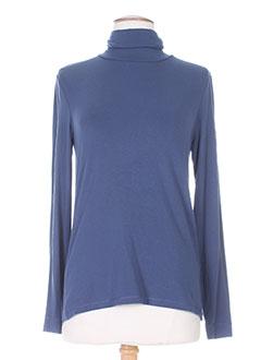 Sous-pull bleu CHACOK pour femme