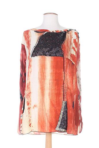 elisa cavaletti tuniques femme de couleur orange