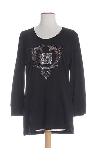 cappopera jeans t-shirts femme de couleur noir