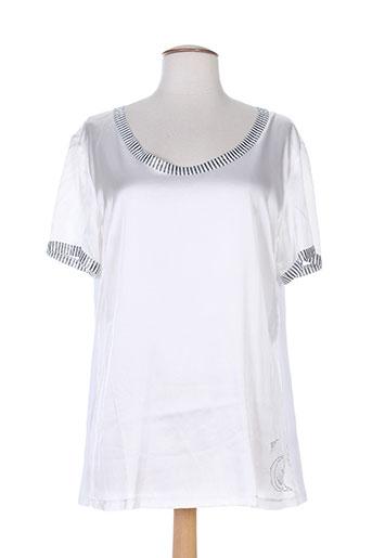 cappopera jeans chemises femme de couleur blanc