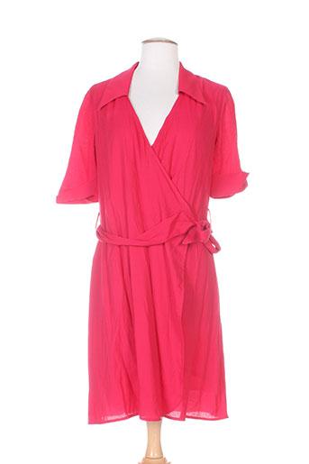 nathalie chaize robes femme de couleur rouge
