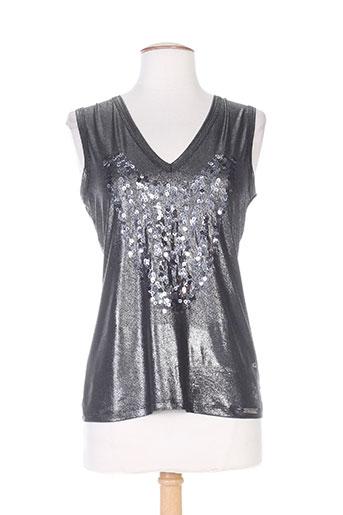 cappopera jeans t-shirts femme de couleur gris