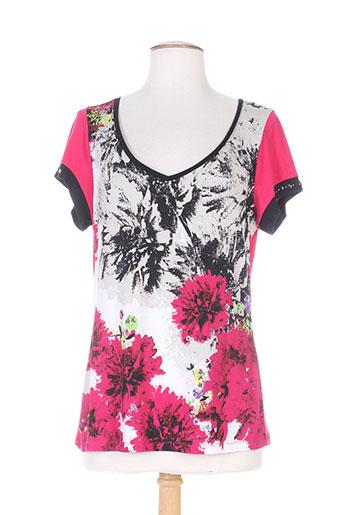 garella t-shirts femme de couleur rose