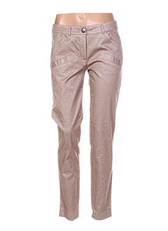 Pantalon casual rose HELENA SOREL pour femme