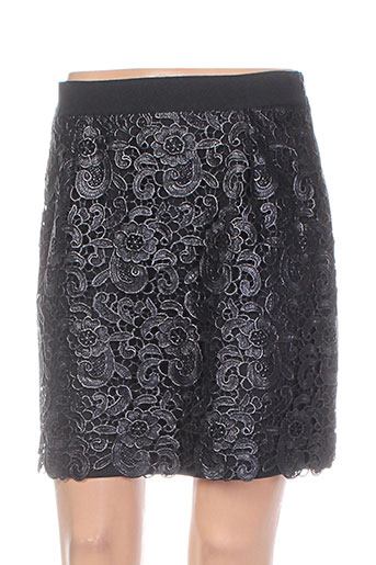 tricot chic jupes femme de couleur noir