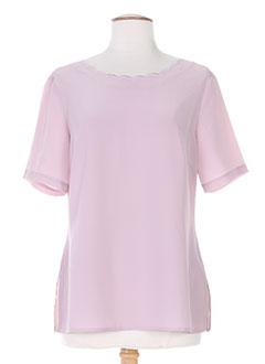 T-shirt manches courtes rose FOSBY pour femme