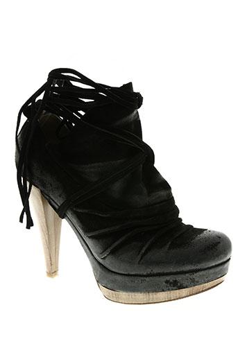 s chaussures femme de couleur noir
