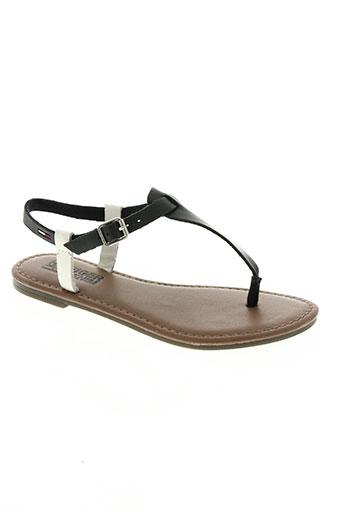 tommy hilfiger chaussures femme de couleur noir