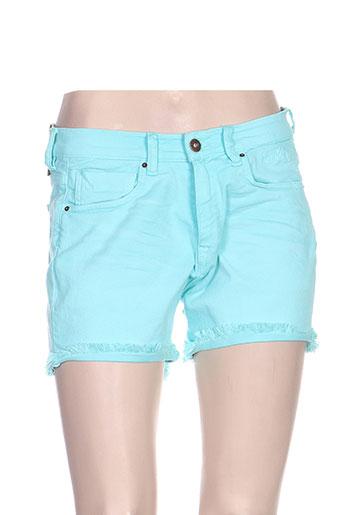 von dutch shorts / bermudas femme de couleur bleu