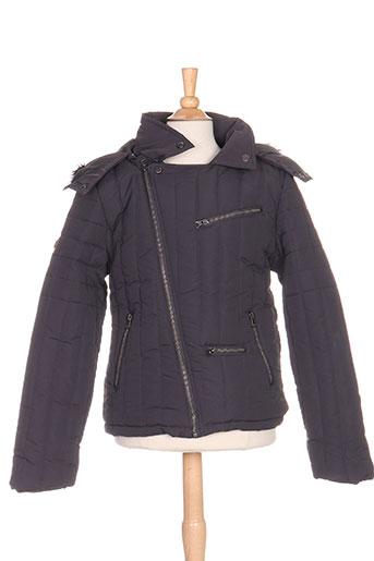 aeropilote manteaux fille de couleur gris