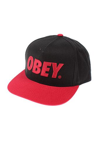 obey accessoires homme de couleur rouge