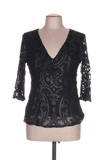 ego chemises femme de couleur noir
