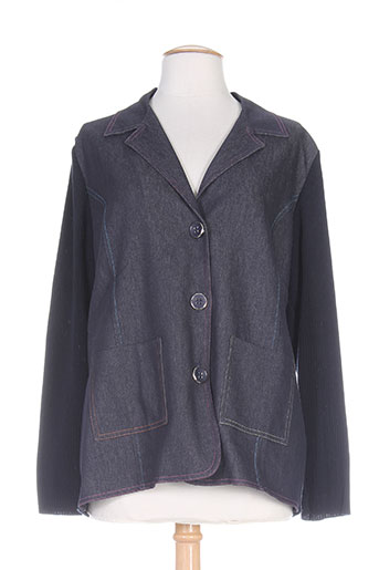 Veste casual bleu CHASSAGNARD pour femme
