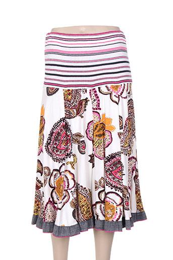 chassagnard jupes femme de couleur rose