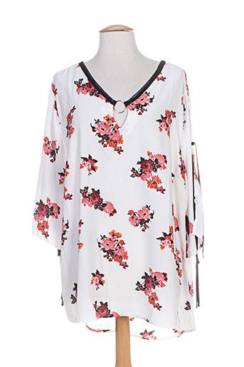 pomme rouge chemises femme de couleur blanc