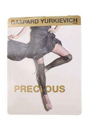 gaspard yurkievich lingerie femme de couleur beige