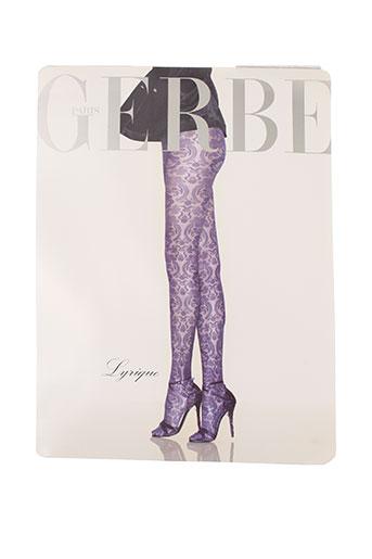 gerbe lingerie femme de couleur violet