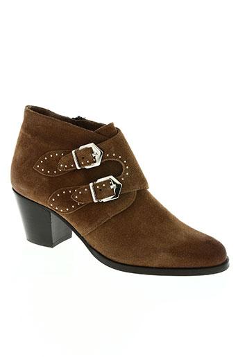 pertini chaussures femme de couleur marron