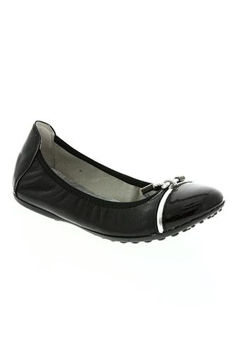 acebos chaussures fille de couleur noir