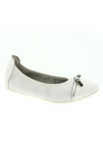 acebos chaussures fille de couleur blanc