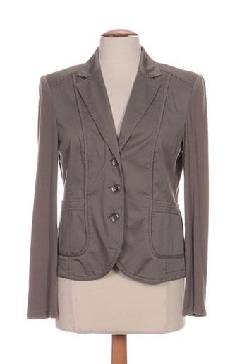 Veste casual marron GERRY WEBER pour femme
