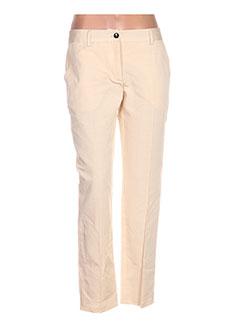 Pantalon chic beige DOLCE & GABBANA pour femme