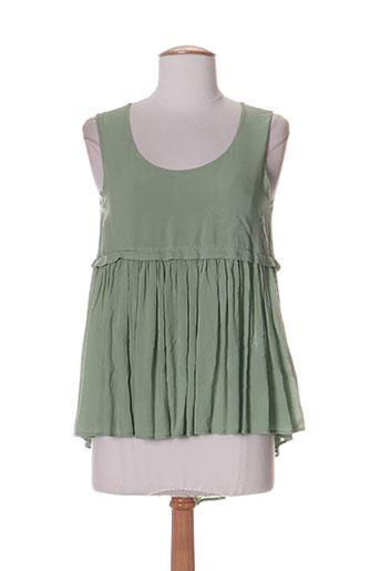 hich use chemises femme de couleur vert