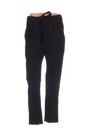 nue 1904 pantalons femme de couleur noir