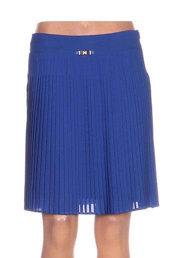 nathalie chaize jupes femme de couleur bleu