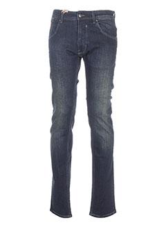 c519c91444dcc Jeans Coupe Slim Homme De Couleur Bleu En Soldes Pas Cher - Modz