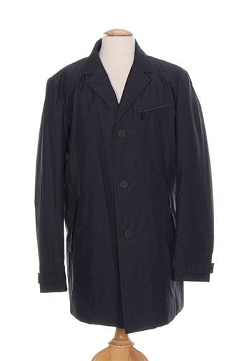 karl lagerfeld manteaux homme de couleur bleu