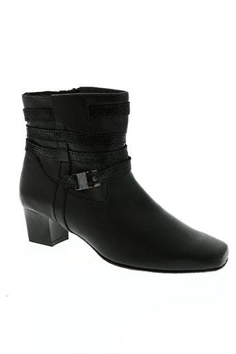 santafe chaussures femme de couleur noir
