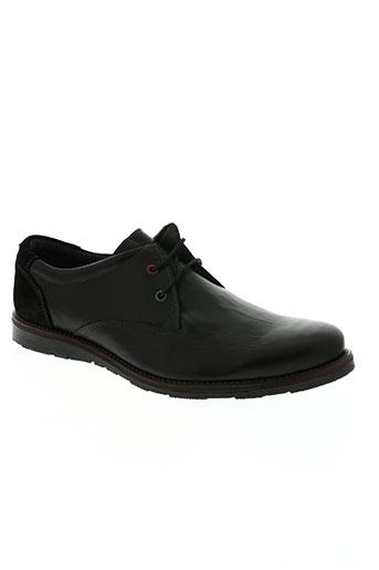 santafe chaussures homme de couleur noir
