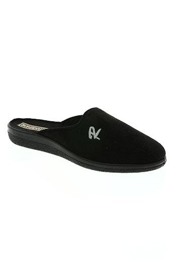 rondinaud chaussures homme de couleur noir