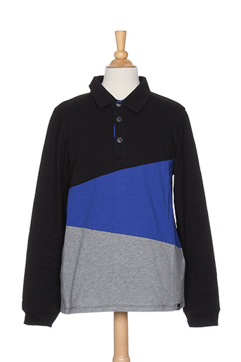 jean bourget t-shirts garçon de couleur bleu