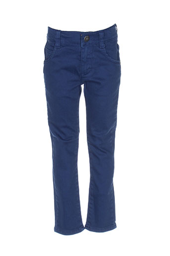 jean bourget pantalons garçon de couleur bleu