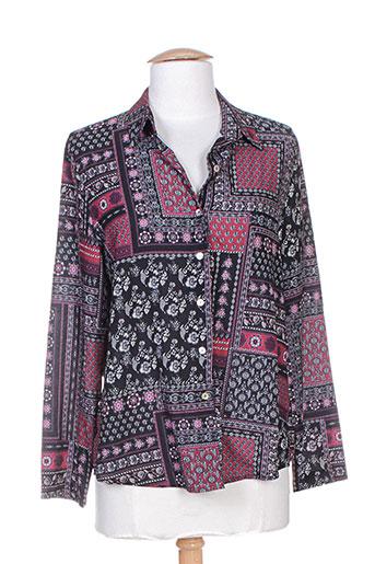 faruk chemises femme de couleur noir