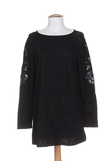 maria bellentani t-shirts femme de couleur noir
