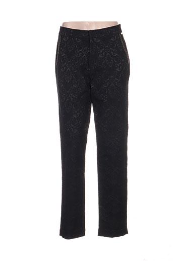 niza pantalons femme de couleur noir