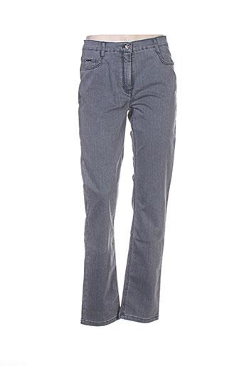 Jeans coupe droite gris BETTY BARCLAY pour femme