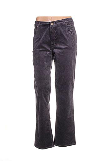 mistral pantalons femme de couleur violet