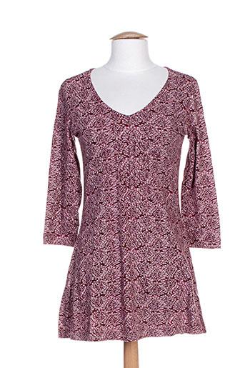 mistral tuniques femme de couleur violet