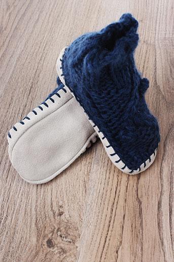 lisbeth dahl chaussures enfant de couleur bleu