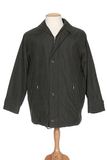 bush manteaux homme de couleur vert