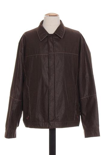 chevy vestes homme de couleur marron